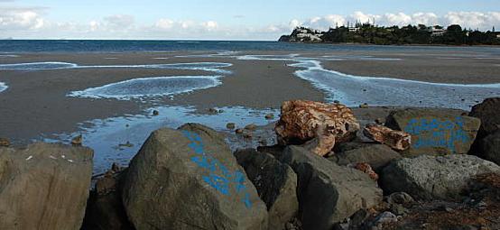 caledosphere - plage magenta nouvelle caledonie