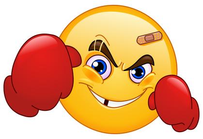 Boxer emoticon